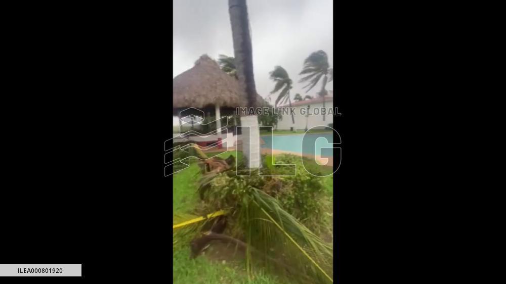 Mexico: Storm Pamela Makes Landfall On Western Coast As Category One Hurricane 2