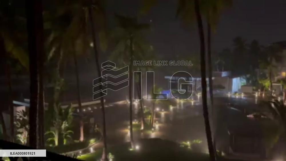 Mexico: Storm Pamela Makes Landfall On Western Coast As Category One Hurricane
